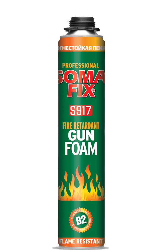 SOMAFIX MOUSSE POLYURÉTHANE NON INFLAMMABLE S917