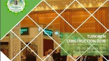 We participated at the 10th Turkmenistan Construction Fair!